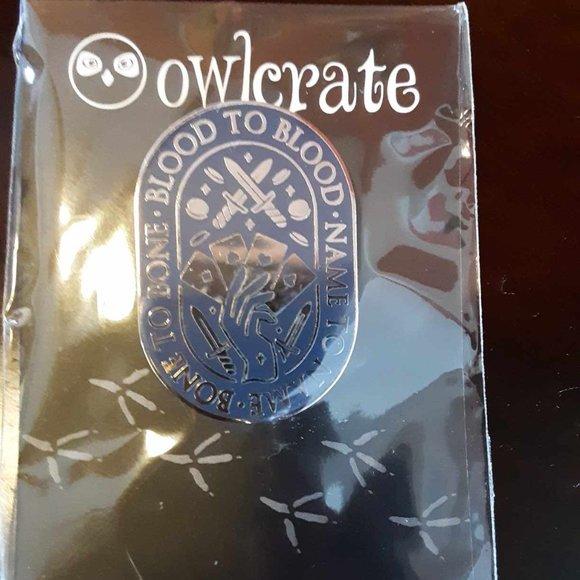 3/$10 OwlCrate Enamel Pin
